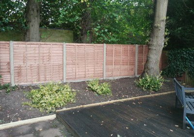 Concreate Panel Fencing
